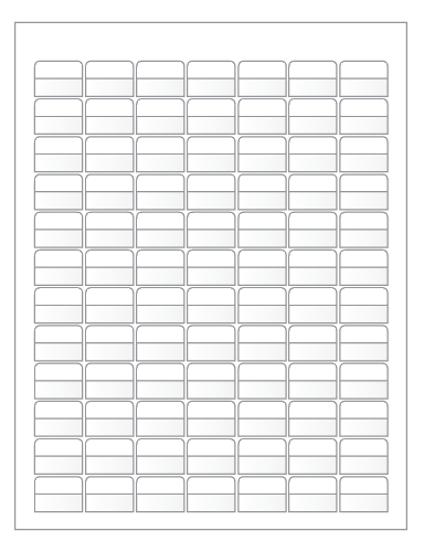 Monster image within printable wire labels